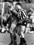 Paul Gascoigne and Vinnie Jones Fotografie-Druck