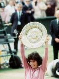 Virginia Wade Tennis 1977 Photographic Print