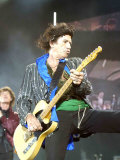 Keith Richards of the Rolling Stones on Stage at the Isle of Wight Festival Stampa fotografica