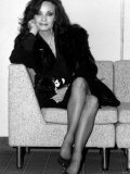 Actress Kate O'Mara of Dynasty, Crossroads and Doctor Who Fame, January 1987 Photographic Print