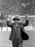 Elton John Chairman of Watford on Wembley Pitch Before Kick Off of FA Cup Final Photographic Print
