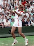 Wimbledon Tennis. Martina Navratilova. June 1988 Photographic Print