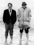 Eric Morecambe and Ernie Wise in January 1965 Photographic Print