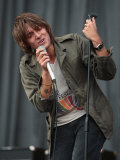 Paulo Nutini Performing Live at V Festival 2007 Photographic Print