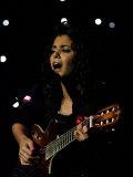 Katie Melua Performs at the Radio Forth Awards, Assembley Rooms, Edinburgh November 2006 Photographic Print