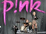 Pop Star Pink Performing at the V Festival at Hylands Park in Chelmsford, Essex Fotografisk tryk