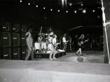 Australian Metal Band AC/DC in Concert in Rio Reproduction photographique