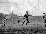 Liverpool Victory 2-0, Liverpool vs. West Ham, November 1969 Fotografisk trykk