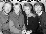 Abba Swedish Pop Band Celebrating 10 Years Together, November 1982 Fotoprint