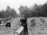 Dizzy Gillespie July 1963 Jazz Man at Fort Belvedere Near Ascot Fotografie-Druck
