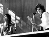 Rolling Stones American Tour on Stage at Philadelphia's JFK Stadium Stampa fotografica