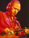 Mark Knopfler, Formerly of Dire Straits, Playing with His Alternative Band the Notting Hillbillies Fotografie-Druck