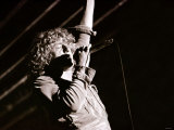 The Who in Concert - Roger Daltrey on Stage Singing at the Charlton Athletic Football Club Ground Photographic Print