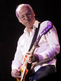 Mark Knopfler Performs at Newcastle City Hall Fotografie-Druck