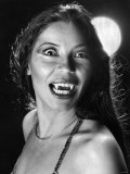 Actress Nai Bonet Seen Here as a Female Vampire, July 1979 Photographic Print