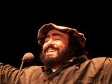 Luciano Pavarotti Concert at Stormont Belfast During Sell-Out Performance Reproduction photographique