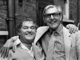 Les Dawson and Eric Sykes All Smiles as They Link Up For the Show. May 1986 Photographic Print