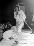 Rod Stewart and the Faces in Concert in the U.S.A., March 1975 Photographic Print
