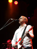 Mark Knopfler Performs at Newcastle City Hall Fotografisk tryk