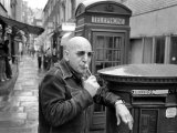 """Actor Telly Savalas in London For a Few Days to Film Scenes in """"Inside Out"""" Photographic Print"""