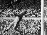 Manchester City's Joe Corrigan in Action. October 1982 Photographic Print