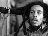 Jamaican Reggae Singer and Song Writer Bob Marley Duing an Interview For the Dail Mirror Fotoprint