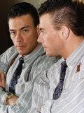 Jean Claude Van Damme Actor Lámina fotográfica
