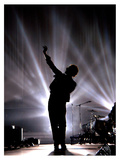 Coldplay's Chris Martin on Stage at MTV Music Awards in Lisbon, November 2005 Fotografie-Druck