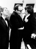 Andre Previn with Eric Morecambe and Ernie Wise During Recording of Morecambe and Wise Show, 1971 Reproduction photographique