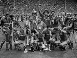 Liverpool Fc After Winning the FA Cup 1986 Liverpool V Everton at Wembley Liverpool 3 Everton 1 Fotografisk trykk