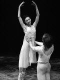 Rudolf Nureyev and Margot Fonteyn at Royal Ballet's Production of Pelleas et Melisande Photographic Print