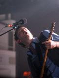 Radiohead's Thom Yorke at the Cia Last Night - 24th Nov 2003 Fotografisk tryk