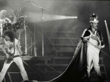 Queen Rock Group in Concert at St James Park in Newcastle Fotografisk tryk