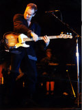 Sting During Concert at Cardiff International Arena Fotografisk tryk