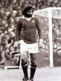 George Best of Manchester United in Action Against Tottenham Hotspur November 1973 Photographic Print