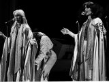 Abba Swedish Pop Group During Their Tour in Britain in Birmingham Anna and Frieda Fotoprint