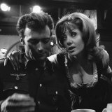 1968 Film Where Eagles Dare: Clint Eastwood and Ingrid Pitt Photographic Print