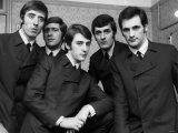 The Moody Blues Pop Group Fotografie-Druck