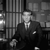 Leonard Bernstein Composer and Conductor February 1963 Photographic Print