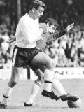 Johnny Haynes in Fulham's Attack Loses the Ball in a Fierce Tackle by Norman Hunter Photographic Print