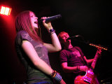 Avril Lavigne at the Barrowlands Glasgow. March 2003 Photographic Print