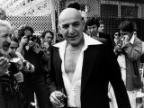 Telly Savalas Greek Actor at Cannes 1977 Fotografisk trykk