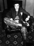 Johnny Rotten of the Sex Pistols Singer Fotografisk tryk