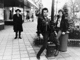 The Sex Pistols Pop Group in Holland 1977 Fotografisk tryk