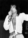 Scottish-Born Rock Singer Rod Stewart During One of His Concerts at Bel-Vue, Manchester Photographic Print
