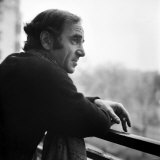 One of France's Greatest Pop Singers, Charles Aznavour Fotografie-Druck
