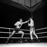 Boxing. Ralph Turpin V. Don Cockell. June 1952 Photographic Print