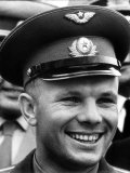 Russian Cosmonaut Yuri Alekseyevich Gagarin Killed in a Plane Crash Fotografisk trykk