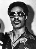 Singer Stevie Wonder, September 1980 Fotografisk tryk