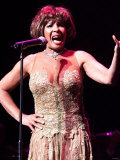 Dame Shirley Bassey in Concert in Belfast May 2000 Waterfront Hall, Belfast Fotografie-Druck